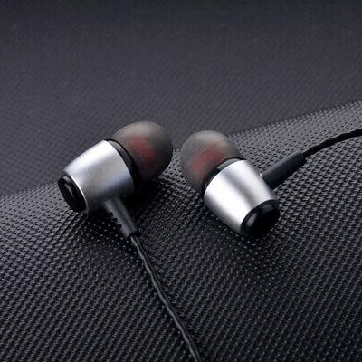 Earbuds Isolating Wired Mic Volume 3.5mm