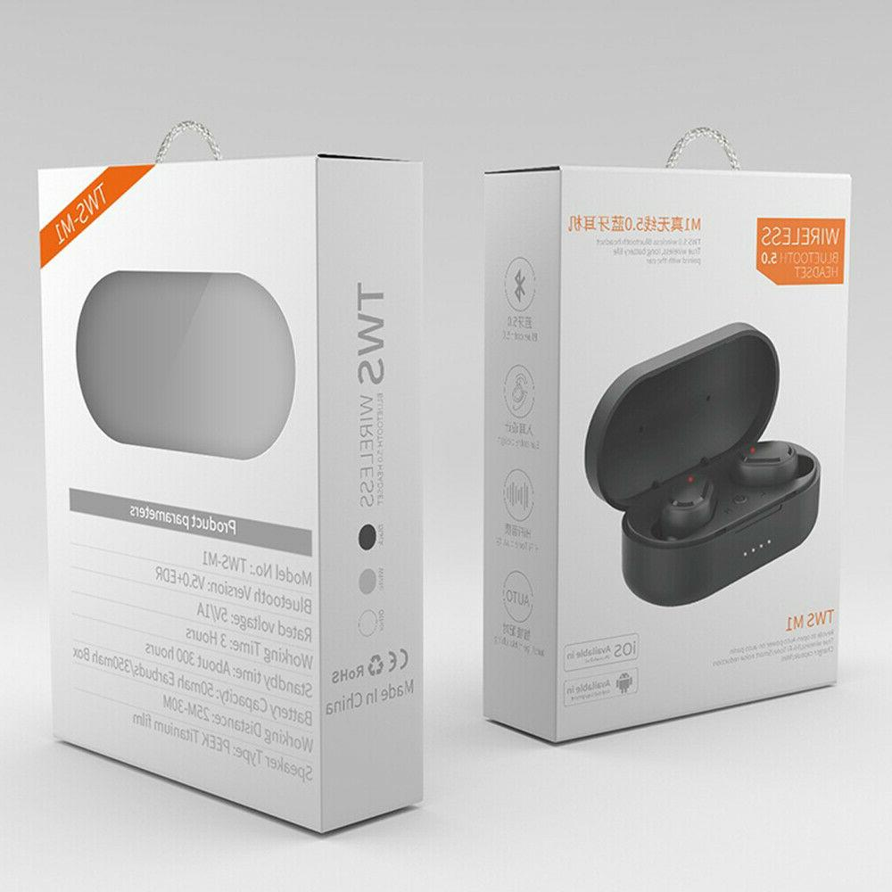 Earbuds headphone waterproof headset 5.0 noise