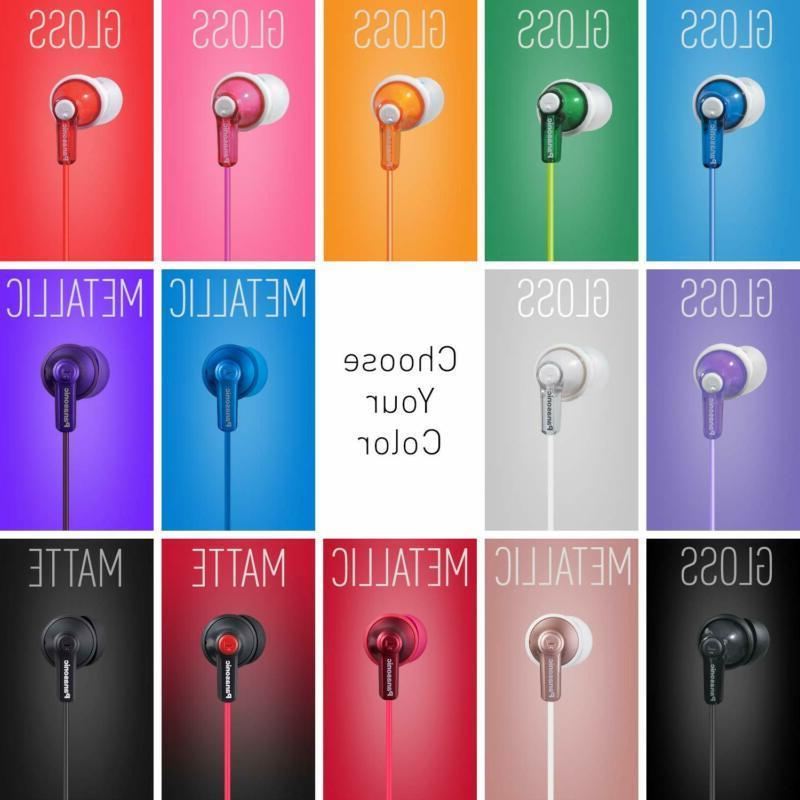 Panasonic Headphones Crystal Clear