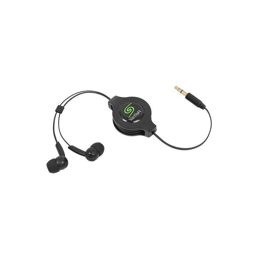 ReTrak Earbuds w/3.5mm Retractable Retractable