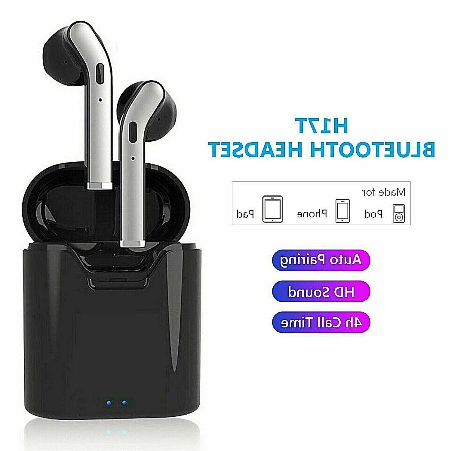**FAST Bluetooth 5.0 Earbuds Headphones Noise Cancelling!