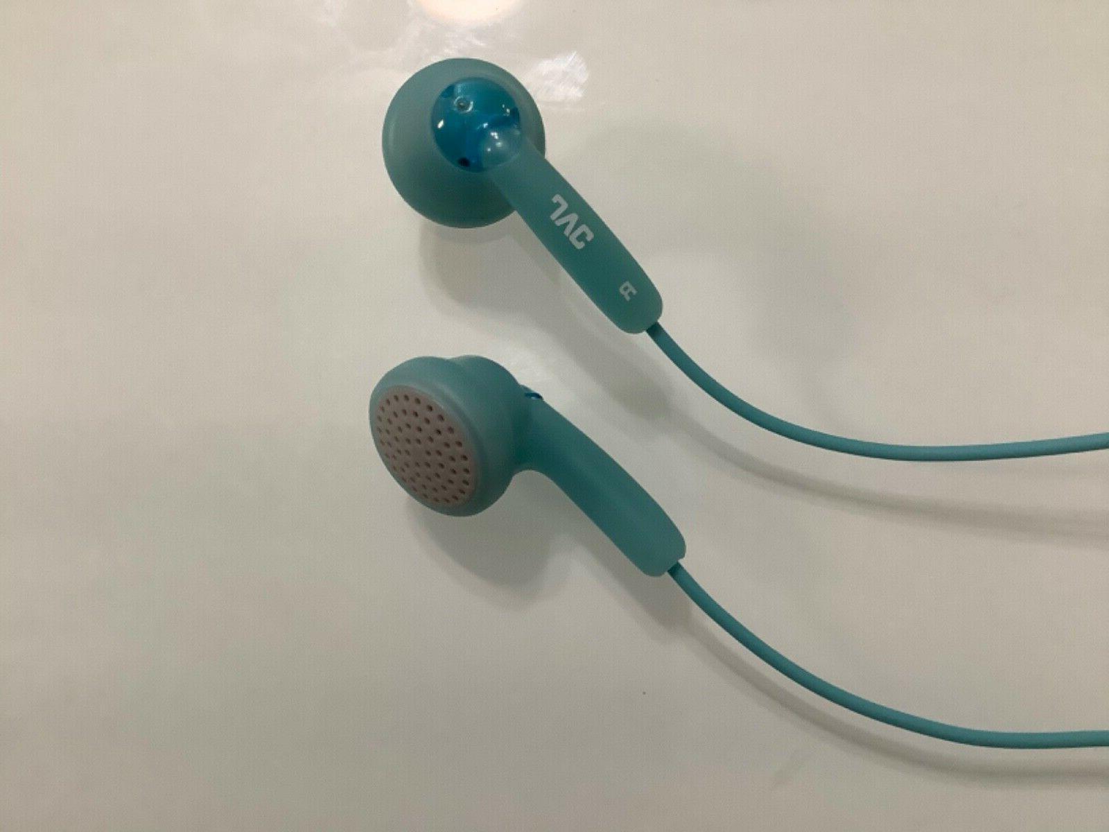 Genuine JVC Gumy Headphones Earbuds