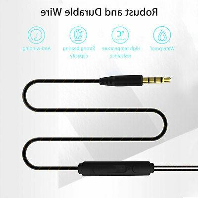 Heavy Earbuds Wired HIFI Dual Driver Mic