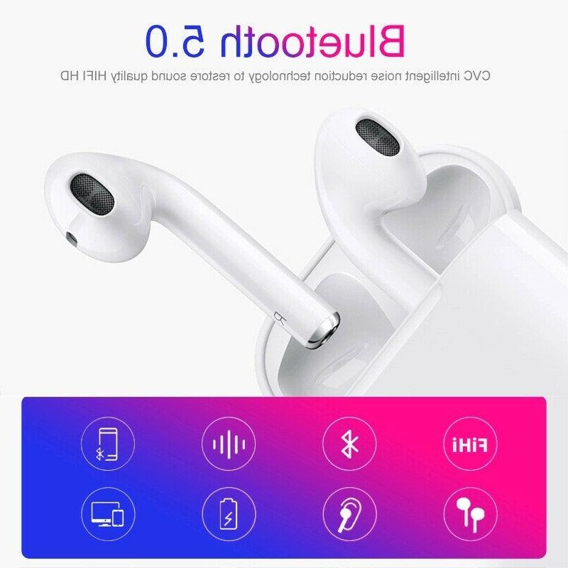 i12 TWS Earphones Wireless Earbuds For