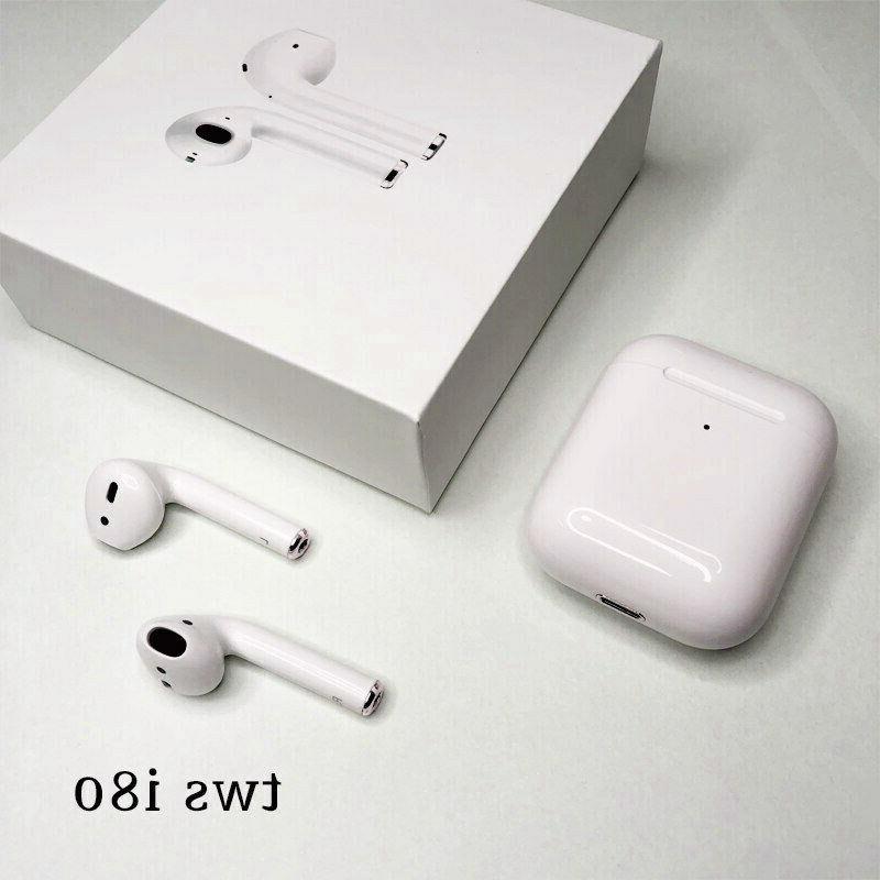 i80 TWS Wireless Bluetooth 5.0 Headphones HiFi Stereo Earbud