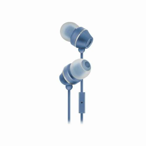 industries hm165 stereo earbuds with in line