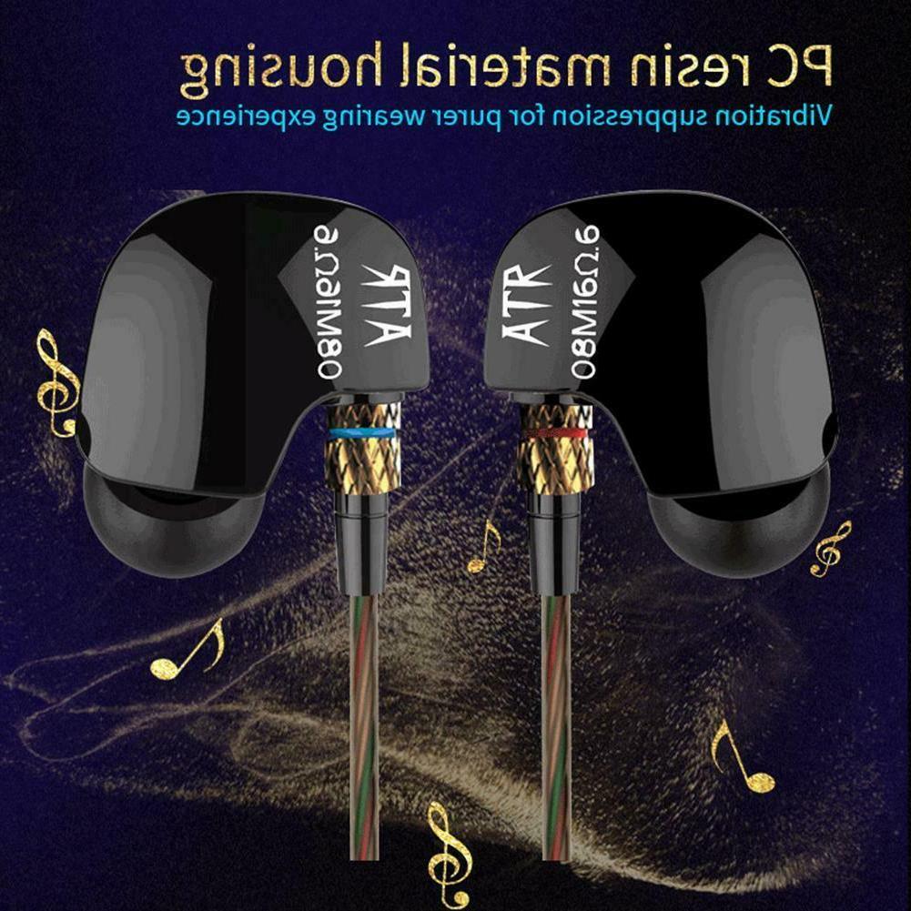KZ ATR In-Ear Noise Canceling Earbuds HIFI Super Bass Earpho