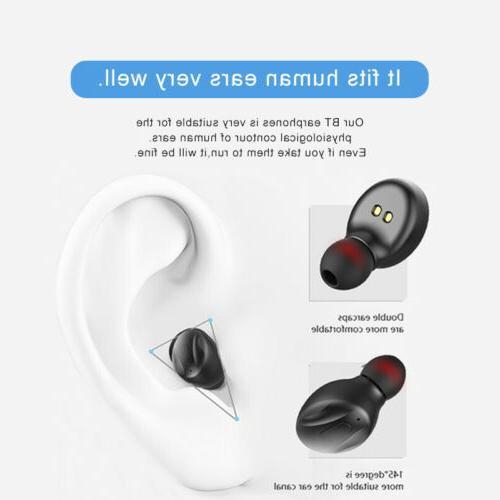 Mini Bluetooth Wireless Earpiece Sport Headset