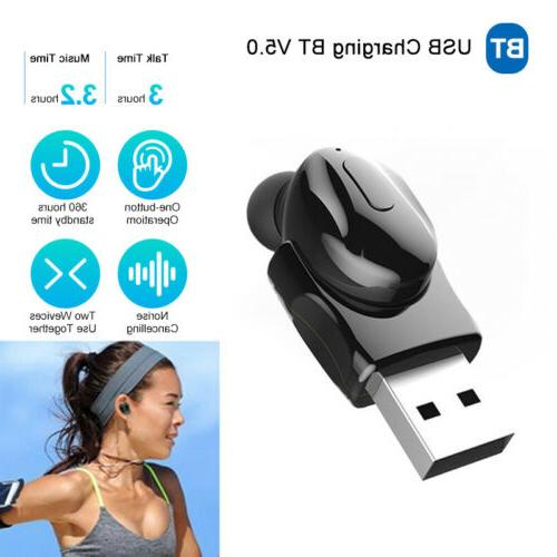 mini bluetooth earbuds wireless earpiece invisible sport
