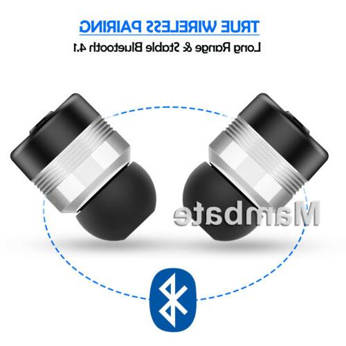 Wireless Headphones Bluetooth Stereo In-Ear iPhone Samsung