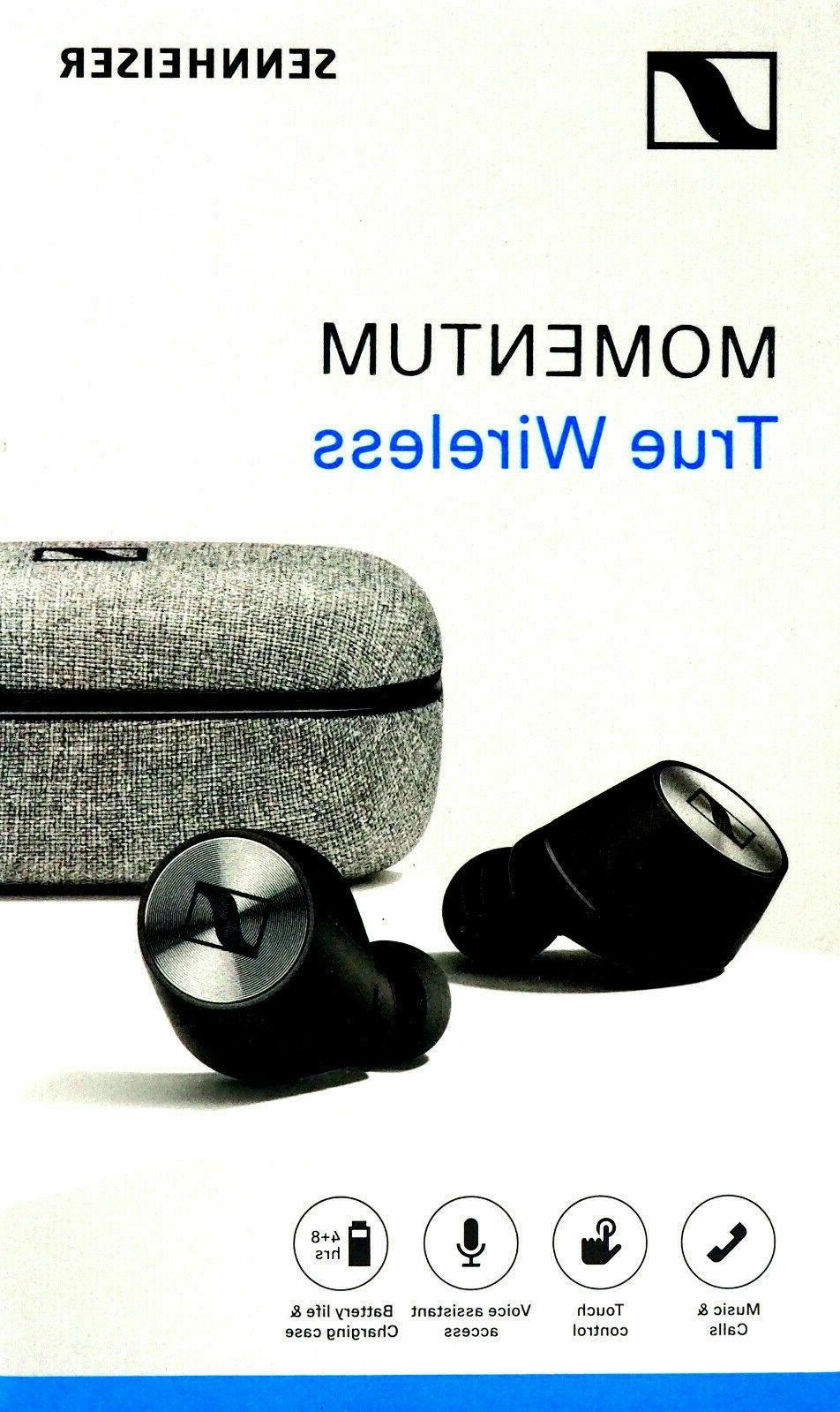 Sennheiser Momentum True Wireless Bluetooth Earbuds with Fin