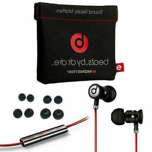 NEW BLACK/ by with In-Ear Beats Headphones NEW