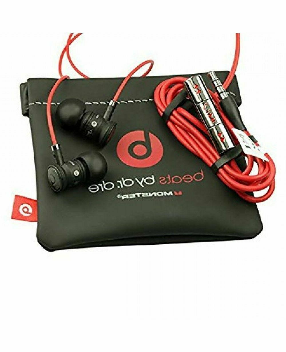 NEW BLACK/ by with Mic In-Ear Beats Headphones