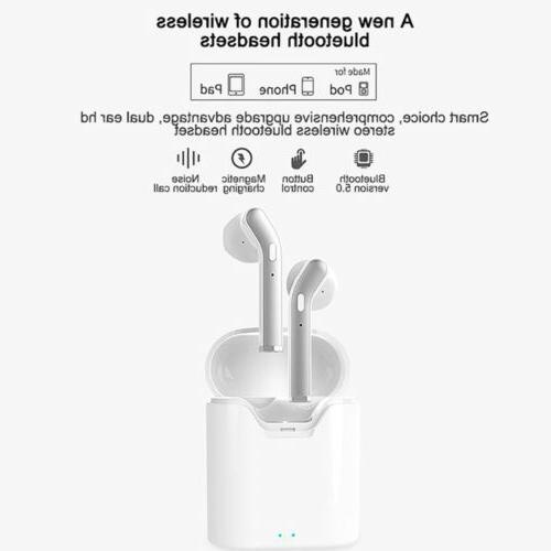 5.0 Earbuds Headphones Headset U