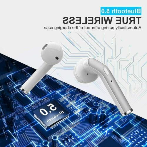 Noise Cancelling Bluetooth 5.0 Earbuds Headphones Headset
