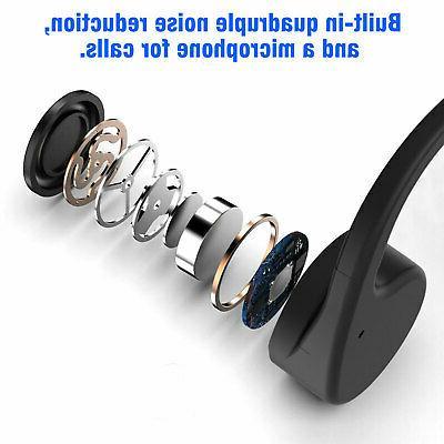 Open Wireless Bone Conduction Sports Headset Earbuds