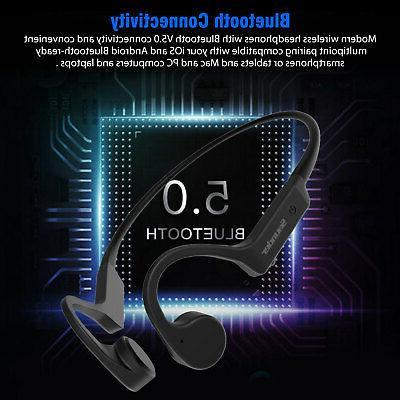 Open Ear Conduction Headphone Bluetooth Sports Earbuds