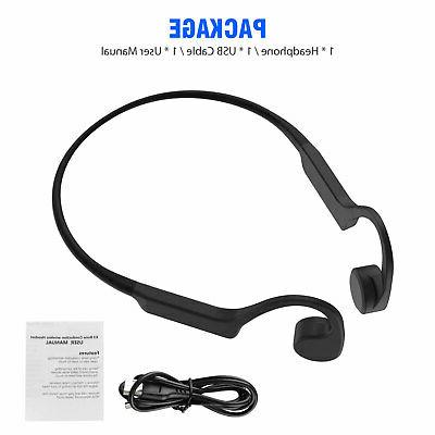 Open Ear Wireless Conduction Headphone Sports Headset Earbuds