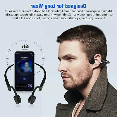 Open Conduction Headphone Bluetooth Sports