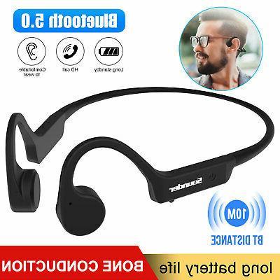 open ear wireless bone conduction headphone bluetooth