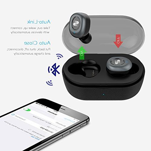 Senzer Q10 Earbuds TWS Bluetooth with Stereo Sound for Android