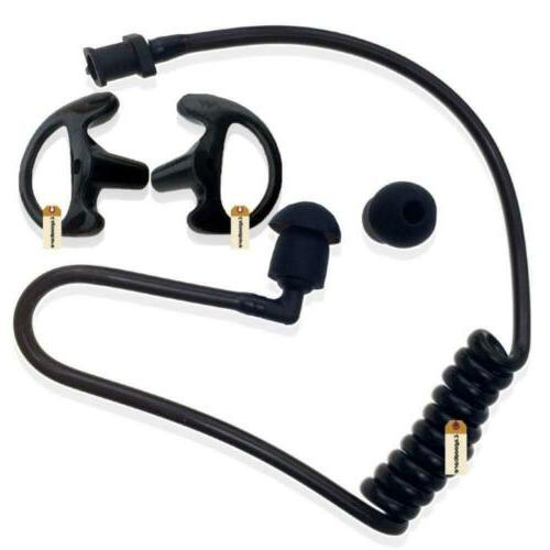 Lsgoodcare black coil earbud