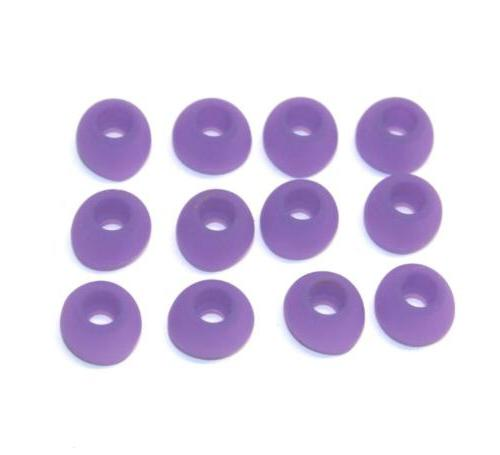 replacement purple silicone eartips medium tips