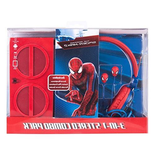 Spiderman 3-in-1 Pack