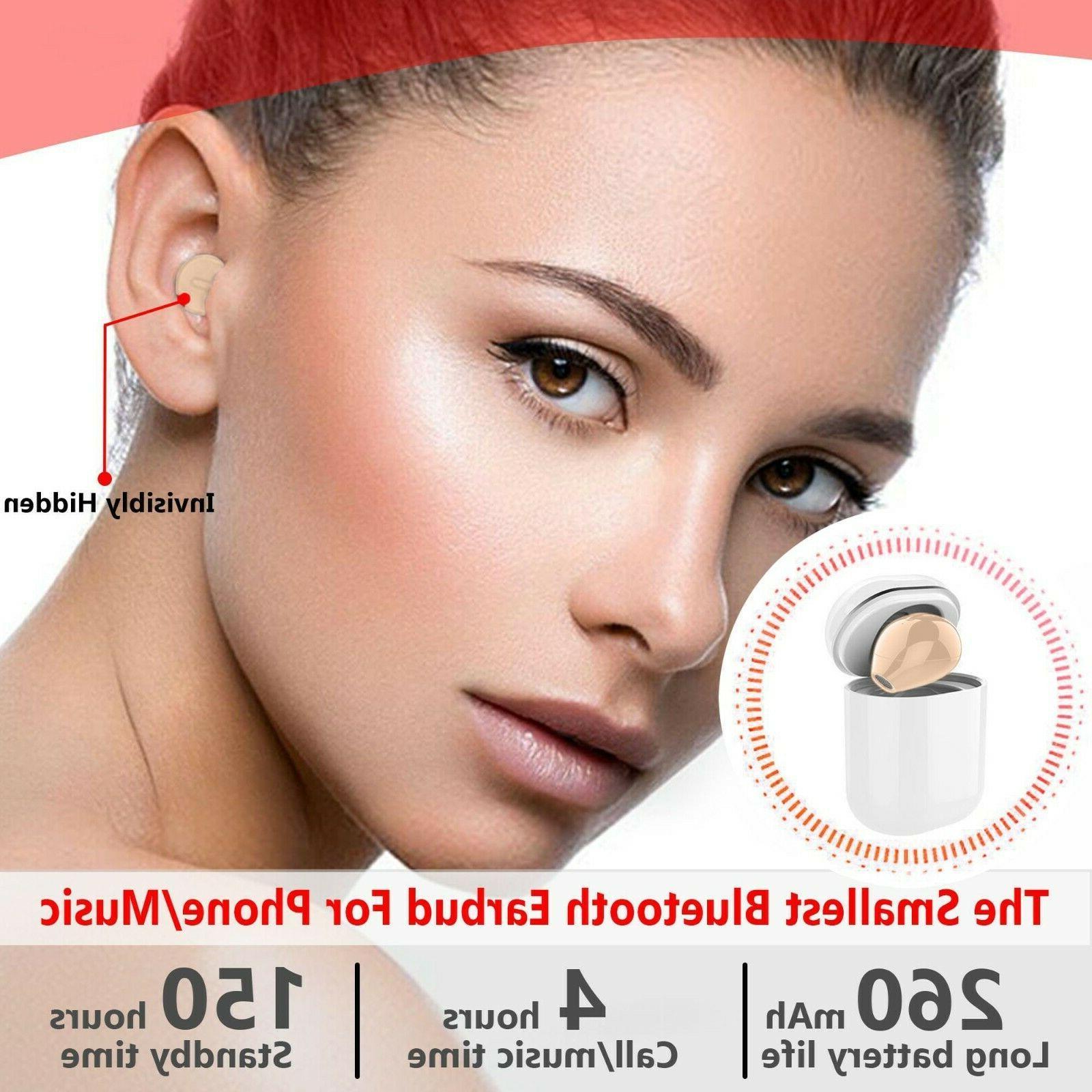 small wireless single earbud bluetooth earpiece hands