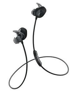 BOSE SoundSport Earbuds Wireless Bluetooth Aqua Headphones