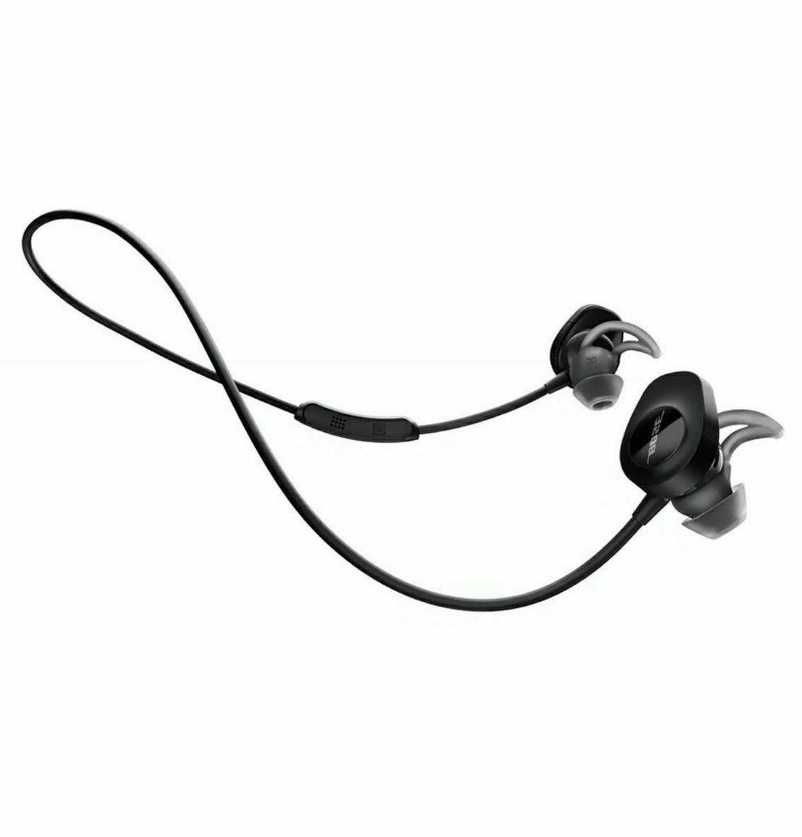 BOSE SoundSport Earphones Bluetooth Black New
