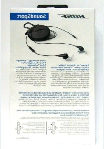 BOSE Headphones For Apple iPhone Charcoal