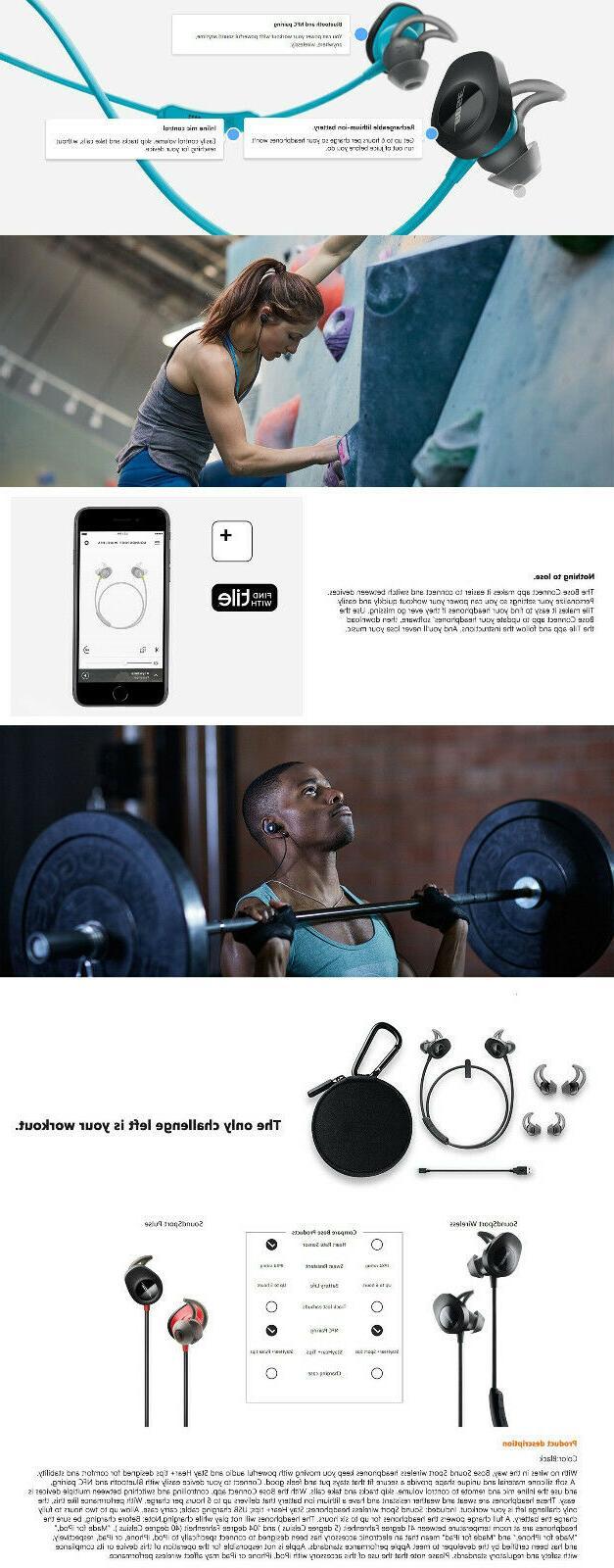 Bose Headphones Earbuds Black ❤