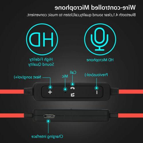 Sweatproof Wireless Bluetooth Sport Stereo Earbuds