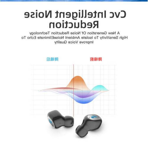 Waterproof Bluetooth Headphones Wireless Cancelling