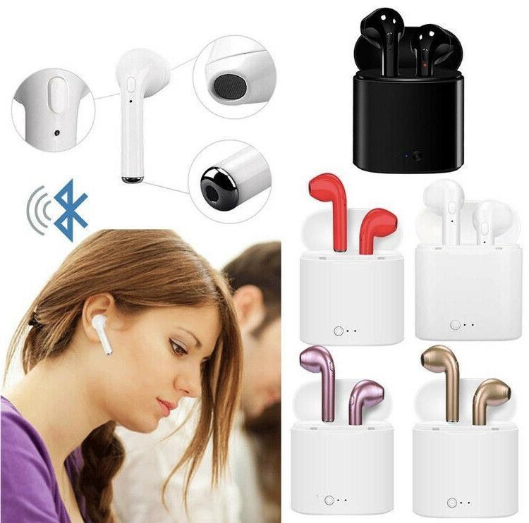 Wireless Bluetooth Earbuds Earphone In-Ear Pods for iPhone Samsung Headphones