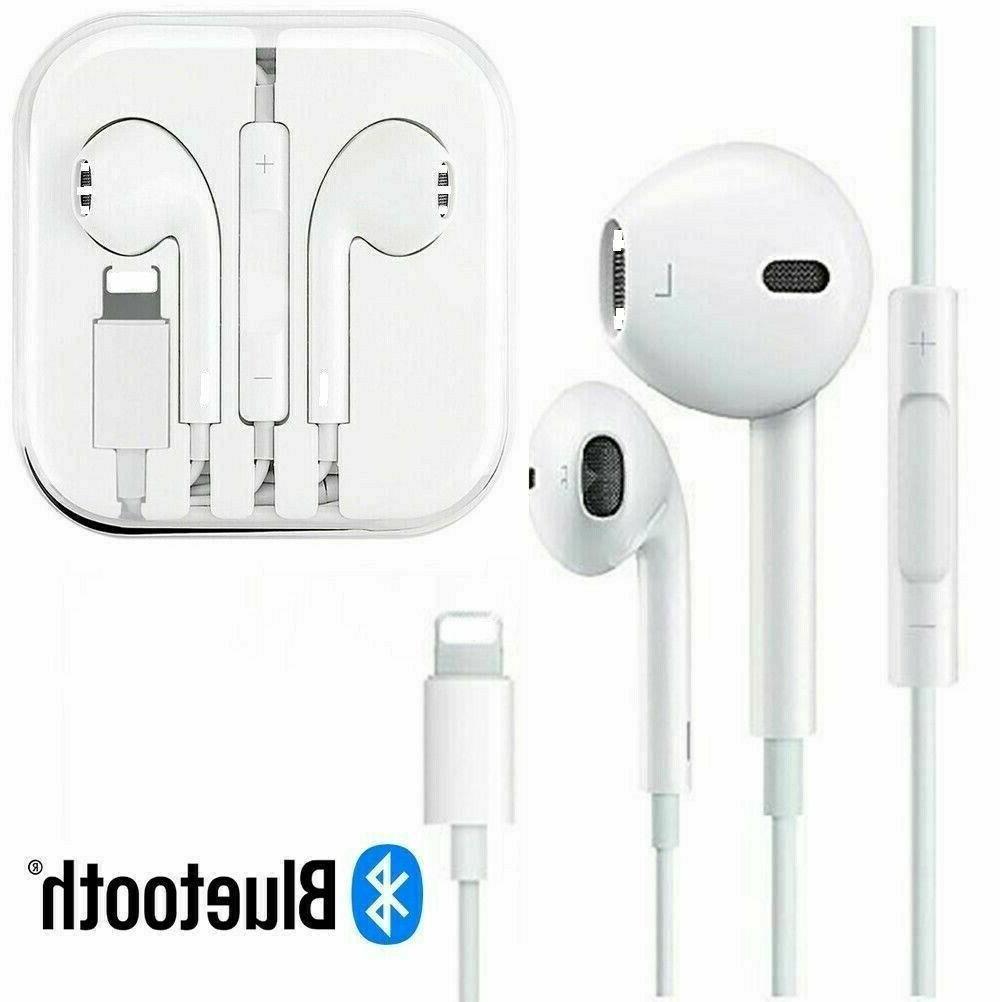 Earphones Headphones Earbuds Headset For iPhone 8 7 Plus XR