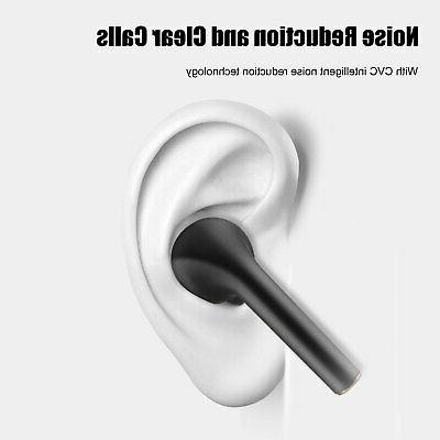 Wireless Bluetooth Earbuds Headphone Samsung iPhone Android IOS