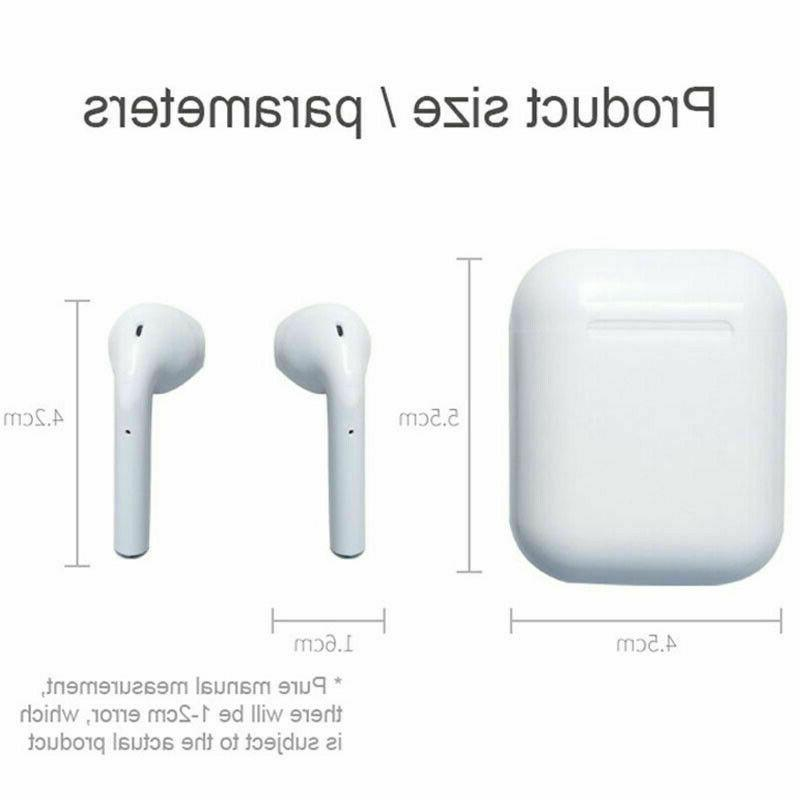 Wireless Earbuds Headsets Compatible Apple AirPods