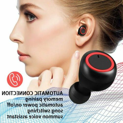 Bluetooth 5.0 Wireless Earphone Headphone TWS