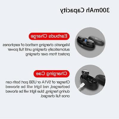 Wireless Earbuds BT Headphones Samsung Galaxy S8 S9