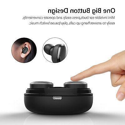 Wireless Earbuds BT Headphones Samsung S8 S9