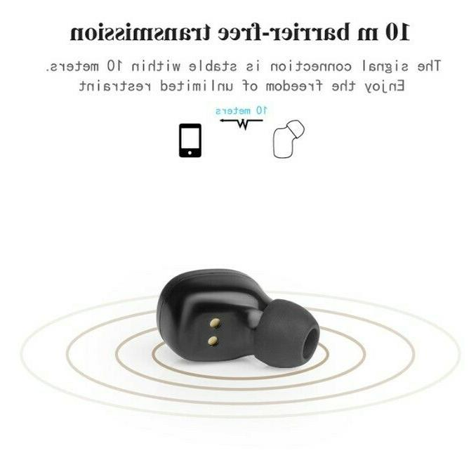 Dual Wireless Bluetooth Earphone Earbuds For Universal Phone Models
