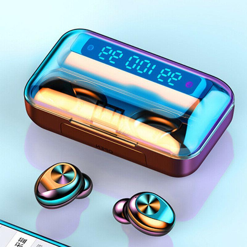 Wireless bluetooth headphone earbuds 5.0