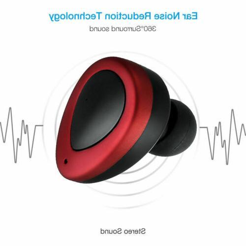 Wireless Bluetooth Twins Stereo Earphone