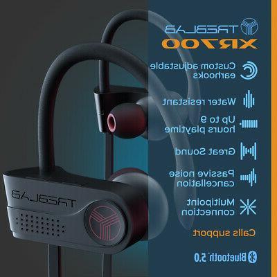 TREBLAB Earbuds Headphones Waterproof