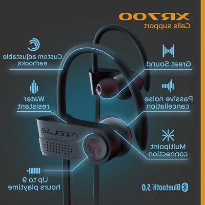 TREBLAB Wireless Earbuds Bluetooth 5 Headphones Waterproof