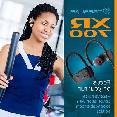 TREBLAB Wireless Earbuds Bluetooth 5 Sports Headphones
