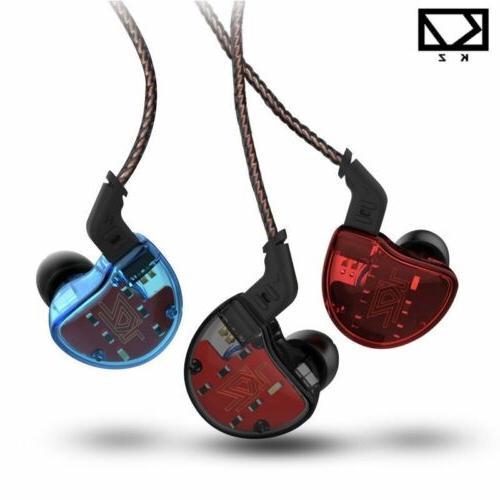 KZ Ear Earphone HiFi Monitors Headset