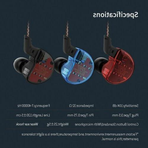 KZ ZS10 Ear Dynamic HiFi Headset